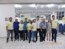 Equipe do IX Encontro de Avicultura reunida com a Profa. Dra. Chayane da Rocha ao final do evento